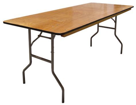 wooden fold up table tables riverhood rentals