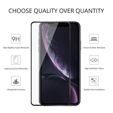 iphone  pro max  full coverage tempered glass screen