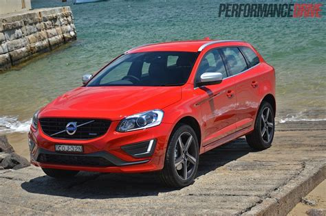 red volvo 2014 volvo xc60 t6 r design review video performancedrive