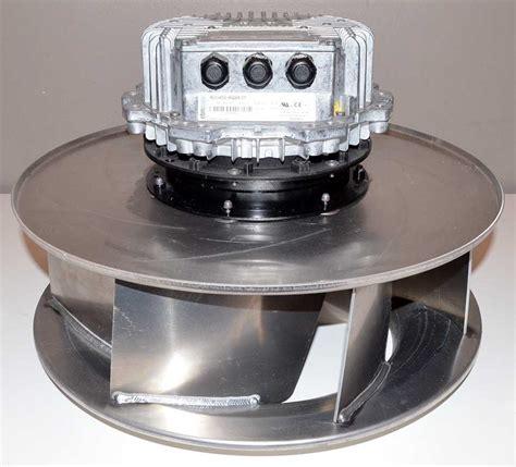 ebm papst blower fan ebm papst r3g450 aq24 01 20 quot centrifugal fan blower 3