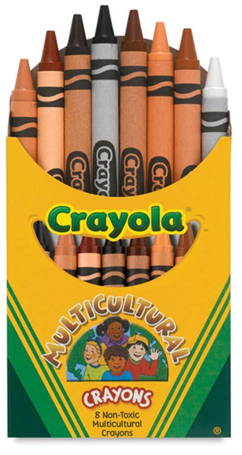 crayola skin color crayola multicultural crayons blick materials