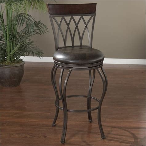 Pepper In Stool by American Heritage Palermo Bar Stool In Pepper 1xx915pp