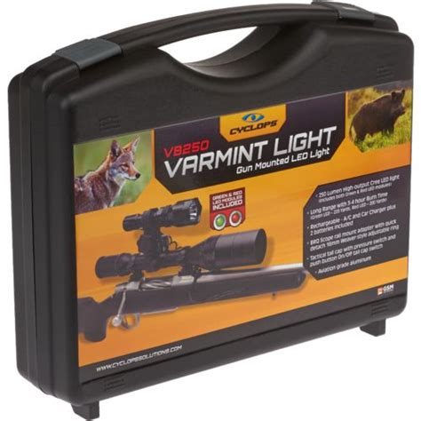 cyclops vb250 varmint light cyclops vb250 varmint light kit academy