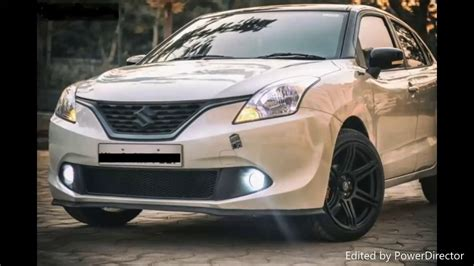 Baleno New Modified White Colours by 2017 Suzuki Baleno The Best Modified Compilation
