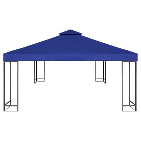 gazebo cover waterproof gazebo cover canopy 7 96 oz yd 178 blue 10 x