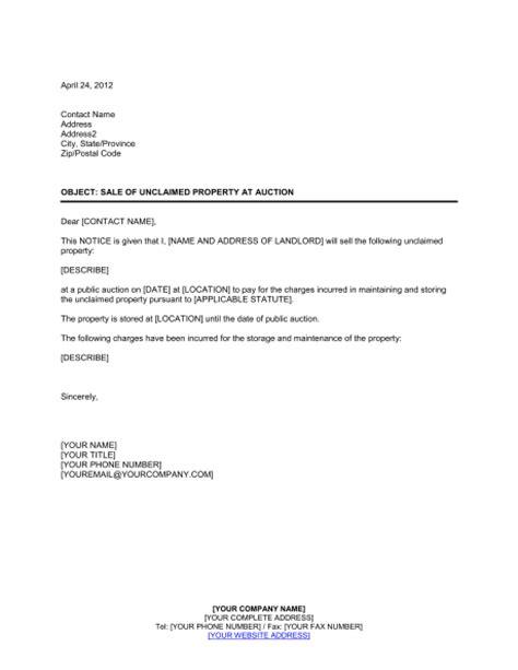 Release Letter Due Diligence Unclaimed Property Letter Template Letter Template 2017