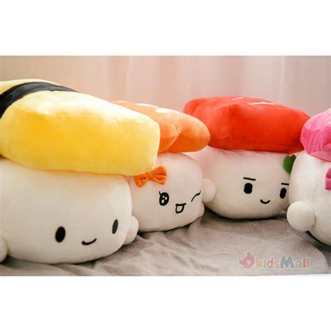 new kawaii japanese anime throw pillow ebi shrimp