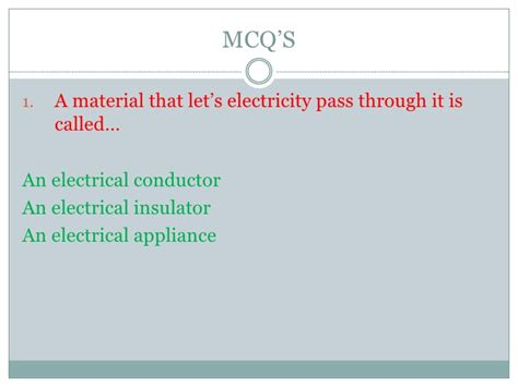 primary resources electrical conductors electrical conductors quiz 28 images conductors and worksheets on conductors and insulators