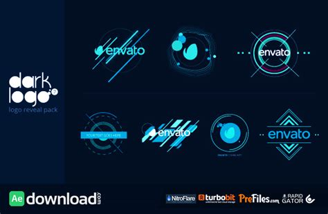 envato templates after effects free download videohive dark logo pack free download free after