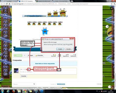 tutorial imagenes html tutorial para ingresar im 225 genes taringa