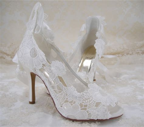ivory bridal shoes high heel s lace bridal shoes high heel wedding shoes ivory