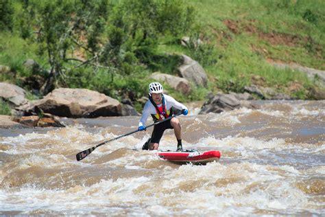 new year race across the river sup make hansa fish river canoe marathon debut run ride dive