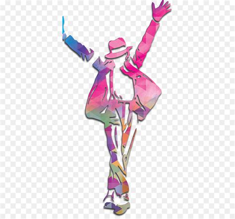 Mj Pink character illustration michael jackson png