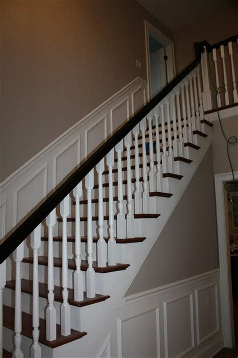 Wainscoting Up Stairs by Pin By On For The Home