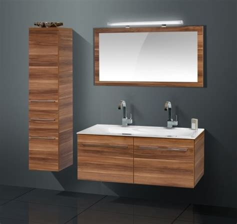 Modern Bathroom Furniture Cabinets High Quality Modern Bathroom Cabinet With Walnut Finish