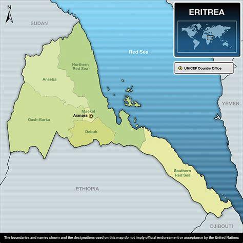 eritrea map eritrea stadtplan vorderer alter