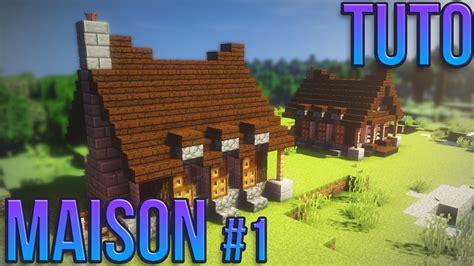Minecraft Construire Une Maison 1919 by Tuto Maison 1 Minecraft