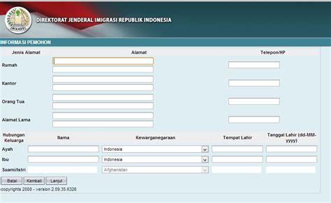 langkah membuat paspor online cara membuat paspor secara online niia blog