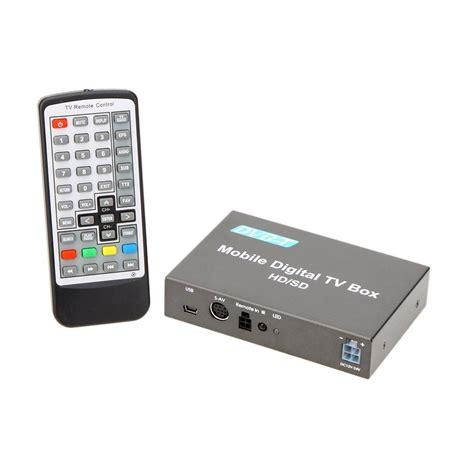 Tv Tuner Box dvb t tuner car digital tv box analog tv tuner high speed 240km h strong si g2f7 ebay
