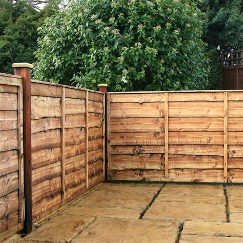 Garden Fence Panels 4ft X 6ft Waltons Garden Fence Panels