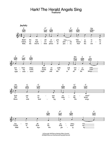 Guitar Chords For Hark The Herald Angels Sing