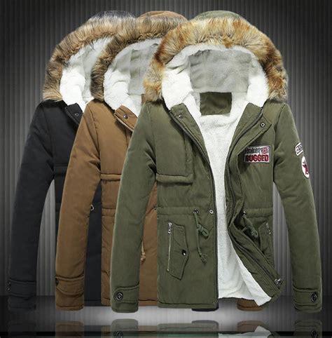 big size s 6xl winter russian mens fur coat army green