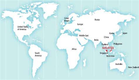 where is malaysia on a world map malaysia maps malaysia travel guide
