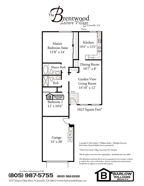 Leisure Village Floor Plans | leisure village camarillo floor plans