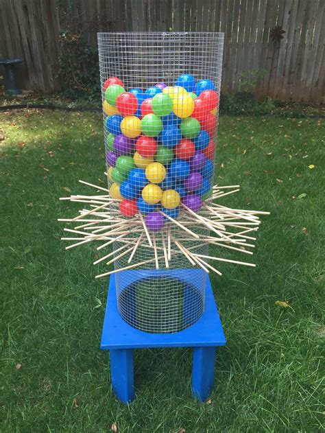 backyard kerplunk game giant kerplunk game for the yard fun for kids and adults