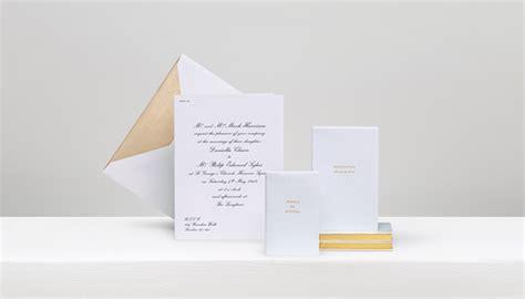 smythson wedding invitations personalised stationery gallery smythson
