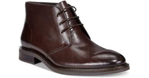 macys mens winter boots alfani s lombard plain toe chukka boots only at macy