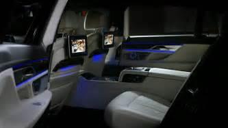 2016 bmw 7 series interior features