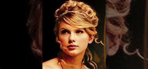 edwards haircut story how to get taylor swifts pretty love story updo hairstyle
