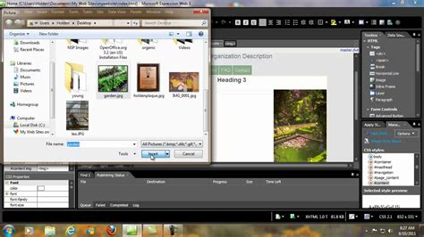 Website Microsoft How To Create A Website With Microsoft Web Expression 3