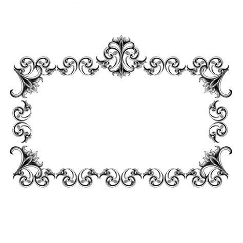 design your frame online vintage frame design vector free download