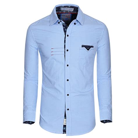 best quality brand new casual shirts autumn turn