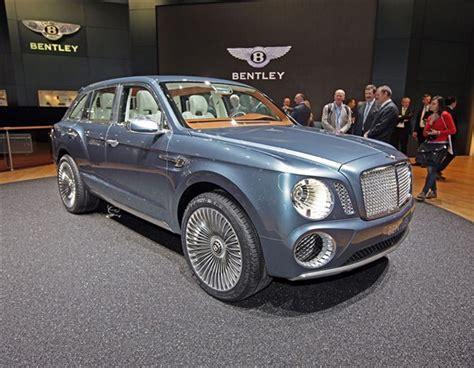 new bentley 4 215 4 luxury suv at geneva motor show 2013luxury