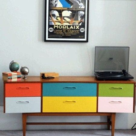 ikea yellow credenza 19 trending retro furniture makeovers decorated life