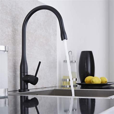 grifo negro lavabo grifo mezclador monomando de cocina negro