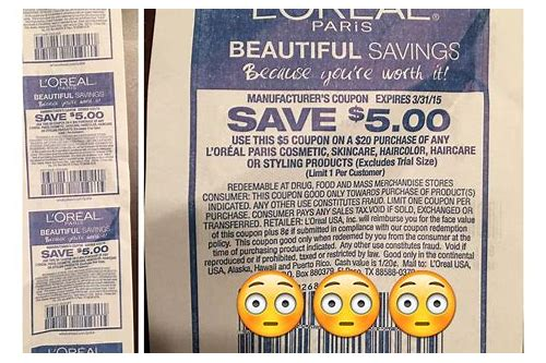 loreal cosmetics coupons