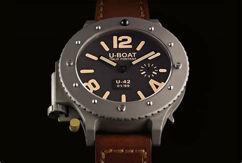 u boat watch pin u boat u 1942 limited edition watch