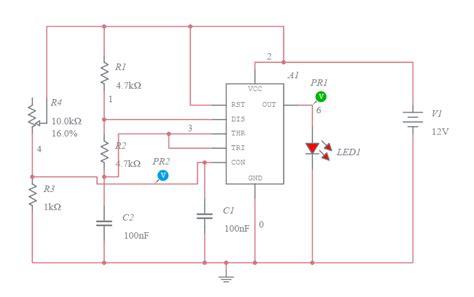 voltage controlled oscillator resistors 555 timer voltage controlled oscillator multisim live
