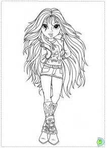moxi girls az coloring pages
