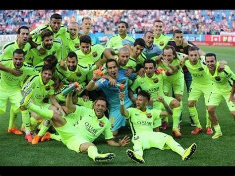 Calendrier Fc Barcelona Liga 2016 Fc Barcelona Ceon De Liga 2014 2015 Fotos Y Musica