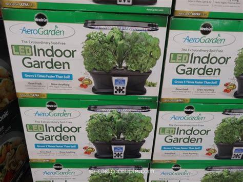 aerogarden ultra led soil  indoor garden