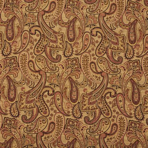 Upholstery Fabric Sle Books by E712 Beige And Light Green Woven Paisley Upholstery
