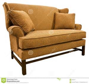 Settee Or Loveseat Chippendale Settee Loveseat Stock Image Image 9584211