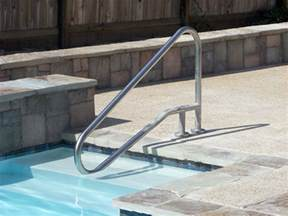 Pool Handrails pool rail 01 aqua magic pool spa san diego