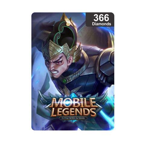 jual mobile legends 366 voucher