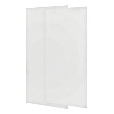 swan 36 in x 72 in 2 easy up adhesive shower wall